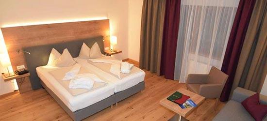 slaapkamer hotel Unterhof