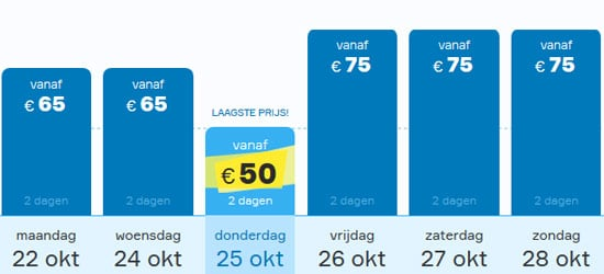 prijslijst